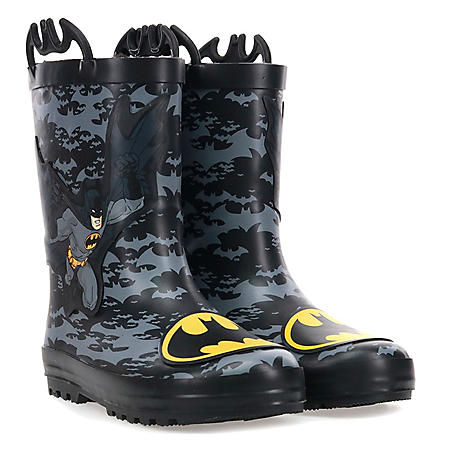 Western Chief Kids Waterproof Warm Faux Fur Lined Rubber Rain Boots