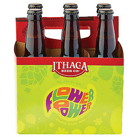 Ithaca Flower Power IPA (12 fl. oz. can, 12 pk.)