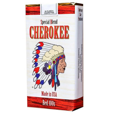 Cherokee Red 100 Soft Pack 1 Carton