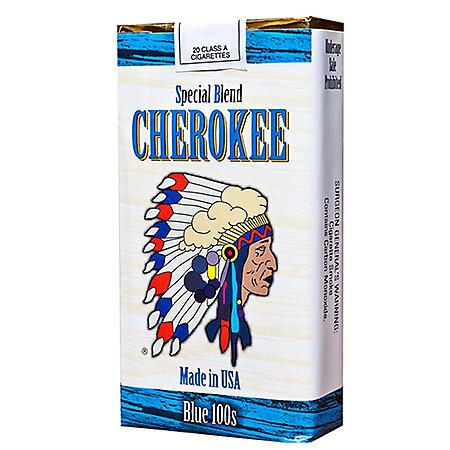 Cherokee Blue 100s Soft Pack (20 ct., 10 pk.)