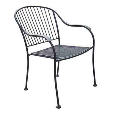 Chelsea Outdoor Wrought Iron Chair Sam S Club
