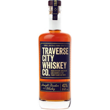 Traverse City Whiskey Co. Straight Bourbon XXX Whiskey (750 ml)