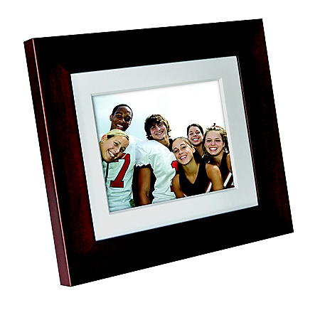 "Philips 8"" Digital Picture Frame - Brown"