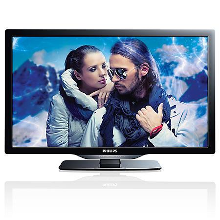 """22"""" Philips LED LCD 720p HDTV w/ NetTV"""