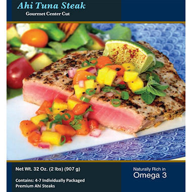 Hawaiian Select Ahi Tuna Steak - 2 lbs.