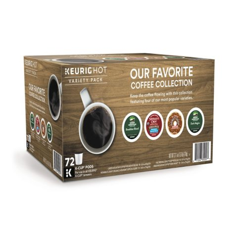 Keurig K-Cup Pod Coffee Collection (72 ct.)