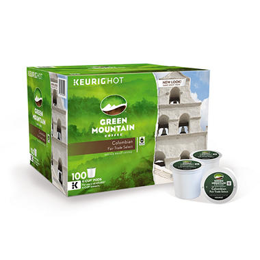 Green Mountain Coffee, Colombian Fair Trade Select (100 K-Cups)