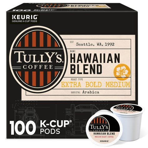 Tully's Coffee, Hawaiian Blend (100 K-Cups)