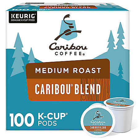 Caribou Coffee Caribou Blend K-Cup Pods (100 ct.)