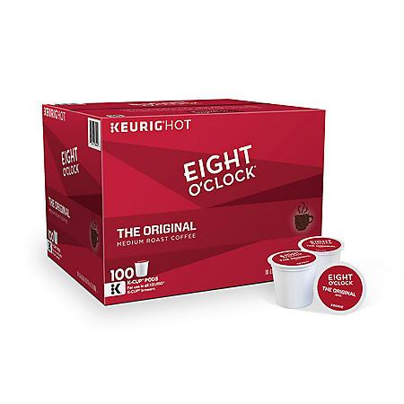 Eight O'Clock The Original Coffee K-Cup Pods (100 ct.)