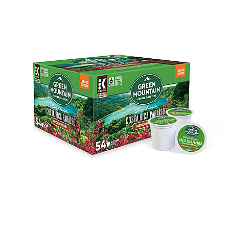 Green Mountain Coffee Costa Rica Blend K-Cups (54 ct.)