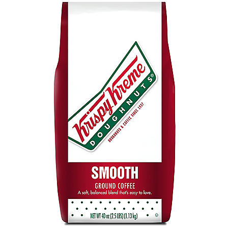 Krispy Kreme Smooth Ground Coffee, Light Roast (40 oz.)