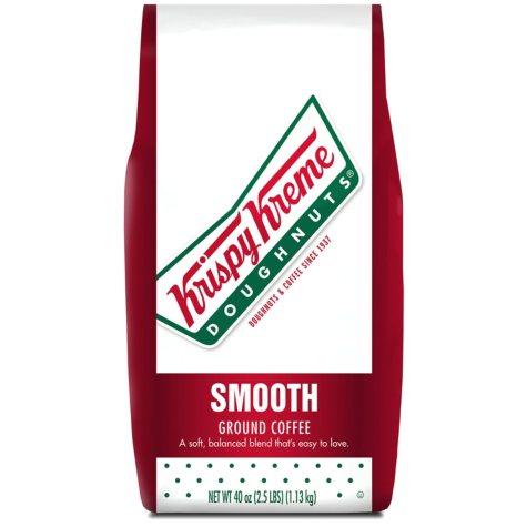 Krispy Kreme Smooth Ground Coffee, Light Roast (40 oz.)