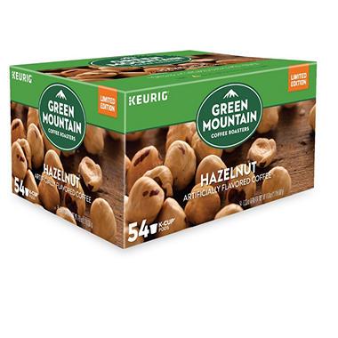Green Mountain Coffee Single Serve K Cup Pods, Light Roast Hazelnut Coffee (