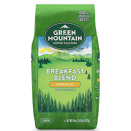 Green Mountain Coffee Breakfast Blend Ground Coffee (40 oz.)