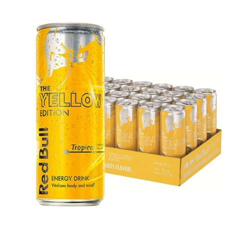 Red Bull Yellow Edition Tropical Energy Drink (12 oz. can)