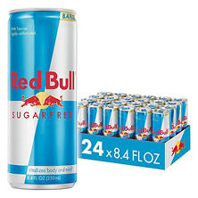 Red Bull Sugarfree Energy Drink (8.4 oz., 24 pk.)