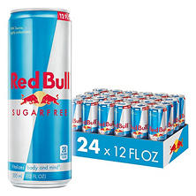 Red Bull Sugarfree Energy Drink (12 oz., 24 pk.)