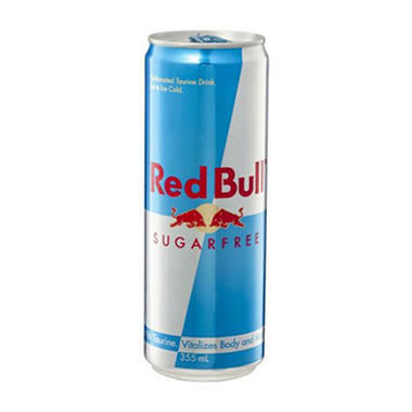 Red Bull Sugarfree Energy Drink (12 oz. can)