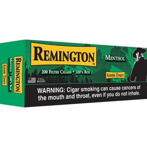 Remington Filter Cigars Menthol - 200 ct.