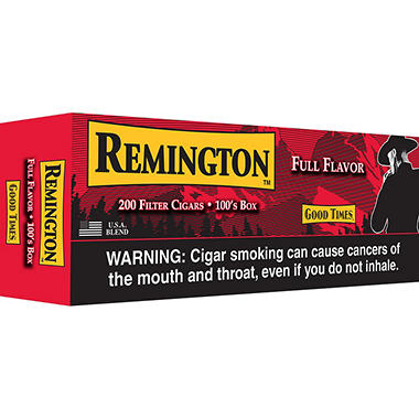 Remington Filter Cigars Full Flavor Box (200 ct.)