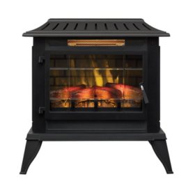 Twin-Star International Infragen™ 3D Electric Fireplace Stove with Safer Plug