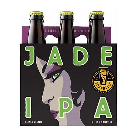 Foothills Jade IPA (12 fl. oz. bottle, 6 pk.)