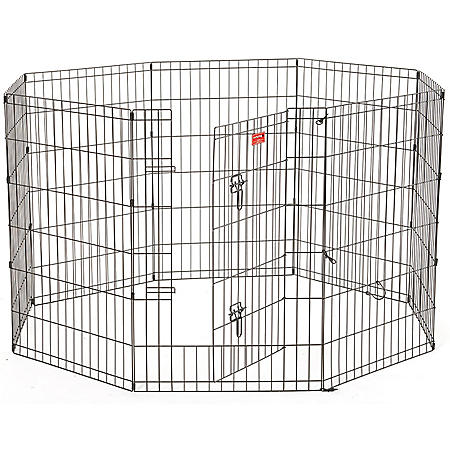 "Lucky Dog 36""H Heavy Duty Exercise Pen with Stakes"