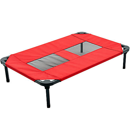 Lucky Dog Elevated Comfort Cot Pet Bed With Ballistic Fabric (Choose Your Size)