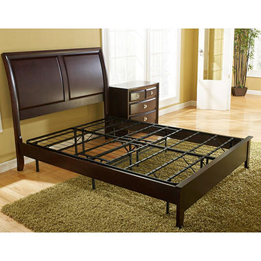 classic dream steel box spring replacement metal platform bed frame king sam 39 s club. Black Bedroom Furniture Sets. Home Design Ideas
