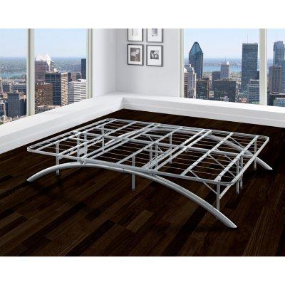 Arch Silver Decorative Metal Platform Bed Sams Club