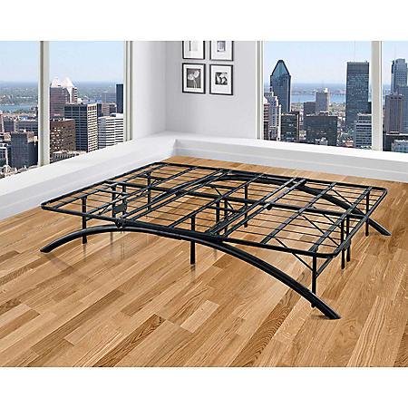 Arch Black Decorative Metal Platform Bed (Assorted Sizes)