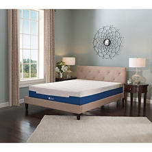 "Lane Sleep Lux 13"" Firm Memory Foam Mattress, Queen"