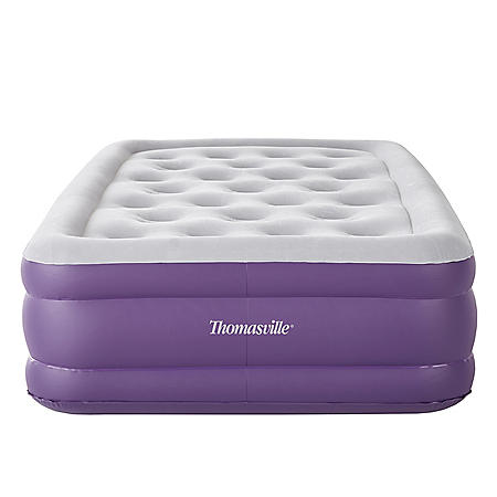 """Thomasville Sensation 15"""" Inflatable Air Bed Mattress with Pump, Twin"""