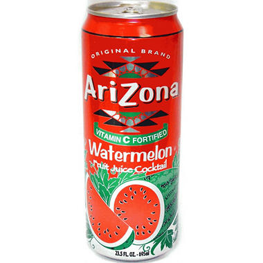 Arizona Watermelon Tea - 24/ 23 oz. cans