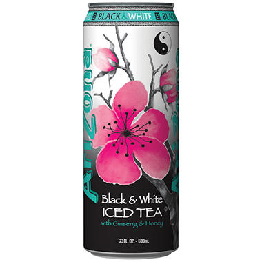Arizona Black & White Iced Tea - 24/23oz