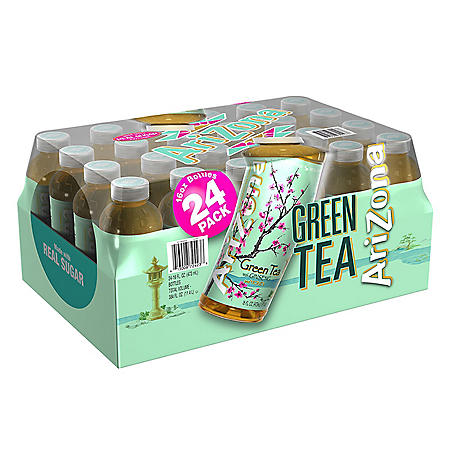 AriZona Green Tea with Ginseng and Honey (16 fl. oz. bottle, 24 pk.)