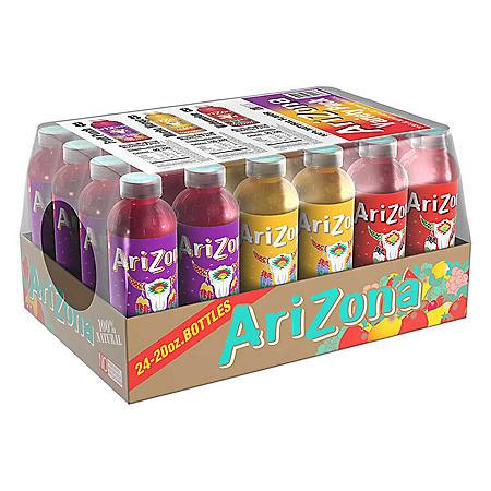 Arizona Juice Variety Pack (20 oz. ea., 24 pk.)