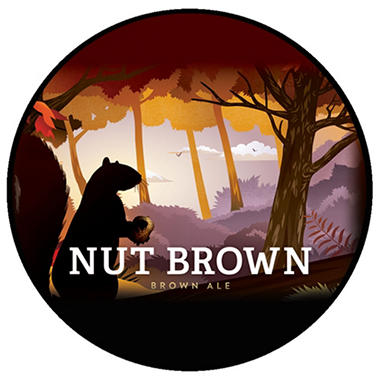 Arcadia Ales Nut Brown Ale (12 fl. oz. bottle, 6 pk.)