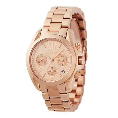 Women's Bradshaw Rose Gold-Tone Watch by Michael Kors