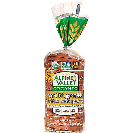 Alpine Valley Organic Multigrain Bread (18oz / 2pk)