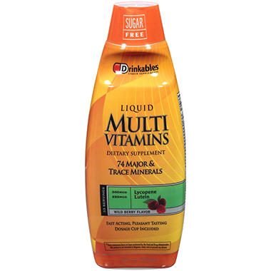 Drinkables® Multi Vitamins - 33 oz.