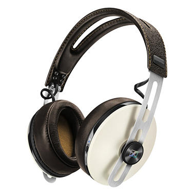 Sennheiser HD 1 Wireless Headphones with Integrated Microphone - Ivory