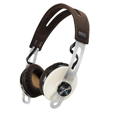 Sennheiser HD 1 On-Ear Wireless Headphones with Integrated Microphone - Ivory