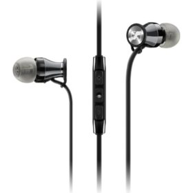 Sennheiser HD 1 In-Ear Headphones - Black Chrome