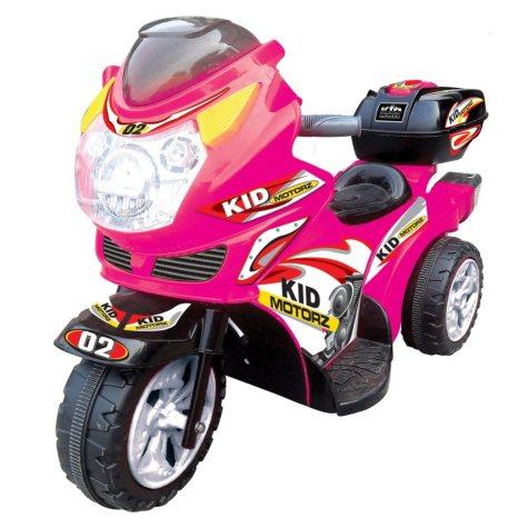6V Motorbike in Pink
