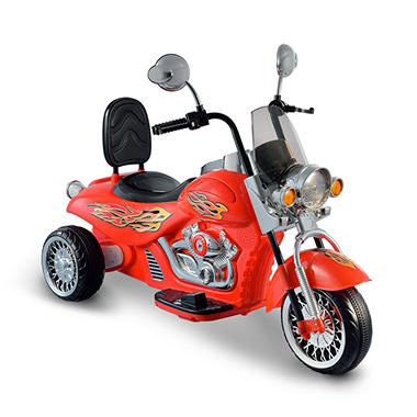 Motorbike 6-Volt Powered Ride-On (Red)