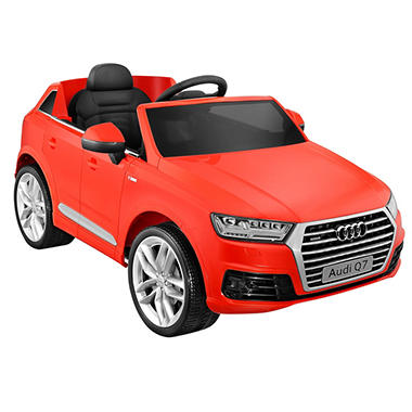 Audi Q7 One-Seater 6-Volt Powered Ride-On (Red)