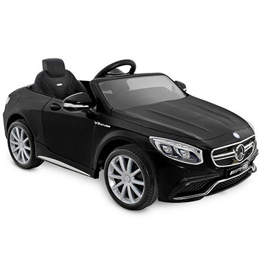 Mercedes Benz S63 AMG One-Seater 6-Volt Powered Ride-On (Black)