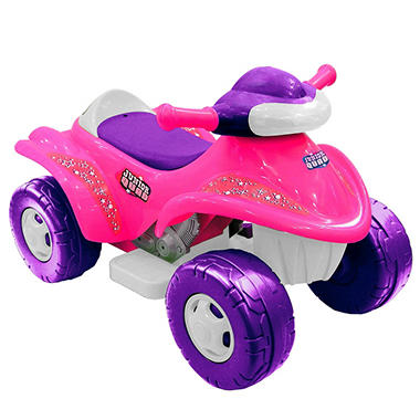 6V Junior Quad Ride-On - Pink